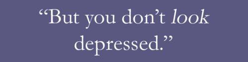 Untuk Seorang yang Depresi, Kamu Tidak TerlihatDepresi